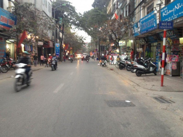 Bán nhà mặt phố Nguyễn An Ninh, Tương Mai, Hoàng Mai 95m2 mặt tiền gần 6m giá 16,5 tỷ