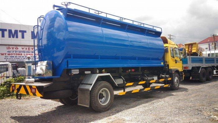 Xe bồn Auman C160 chở thức ăn gia súc