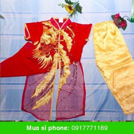 Sét áo dài Tàu viền cổ trụ