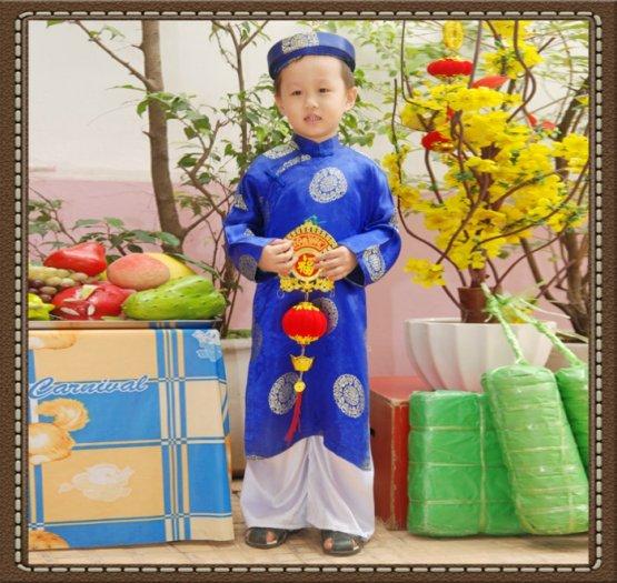 Trọn bộ áo dài truyền thống bé trai