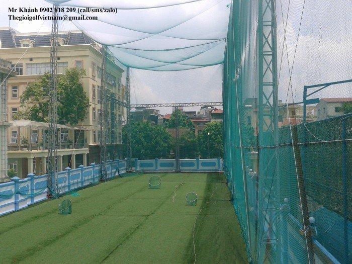 Lưới quây sân tập golf1