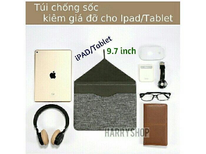Bao chống sốc kiêm kệ đỡ cho Ipad và máy tính bảng 9.7 inch0