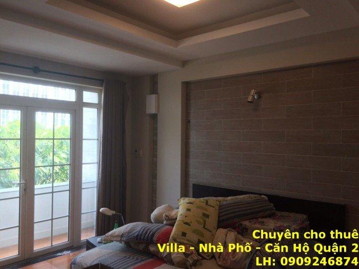 Cho thuê nhà làm văn phòng, showroom Vũ Tông Phan Q2, hầm 2 lầu 4PN, giá 40tr