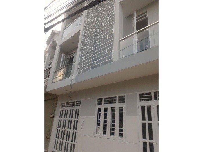 Bán nhà đường HTP ( 2 lầu 2PN ) sổ hồng riêng giá rẻ