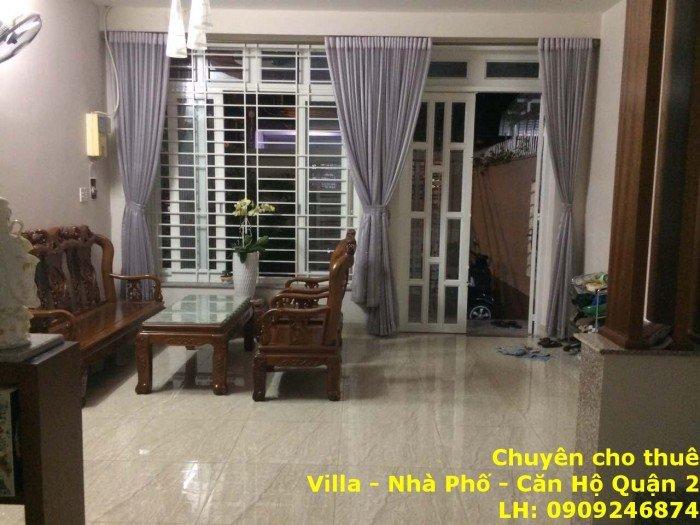 Cho thuê nhà Đường 30 Phường Bình An Q2, 2 lầu 3PN, giá 22tr.