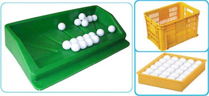 Khay đựng bóng golf bằng nhựa0