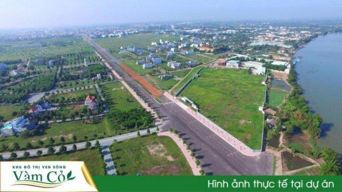 Bán đất nền  thuộc dự án khu đô thị ven sông Vàm Cỏ
