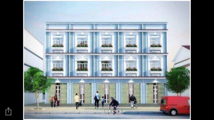 Bán nhà Nhà Bè, 1 trệt 2 lầu, hẻm xe hơi, DT 54m2 giá 710 triệu