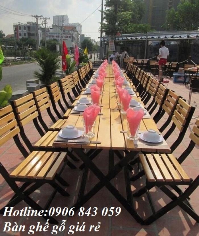 Bàn ghế nhà hàng, quán nhậu, quán ăn giá rẻ nhất, mẫu đa dang