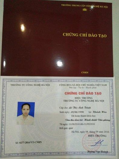 Lớp Đào Tạo Văn Thư Lưu Trữ - Hành Chính Văn Phòng