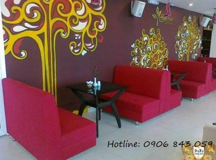 Bàn ghế sofa giá rẻ cho kinh doanh quán trà sữa, nhà hàng, quán karaoke0