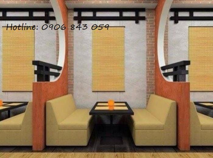 Bàn ghế sofa giá rẻ cho kinh doanh quán trà sữa, nhà hàng, quán karaoke1