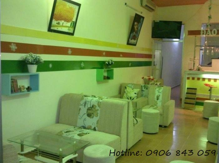 Bàn ghế sofa giá rẻ cho kinh doanh quán trà sữa, nhà hàng, quán karaoke2