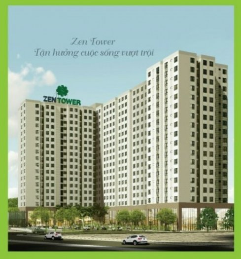 Căn Hộ Giá Rẻ Zen Tower 620Tr Gần Metro Hiệp Phú Quận 12