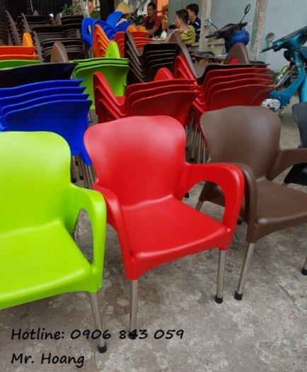 Thanh lý lô ghế nhựa cà phê, đủ màu lựa chọn4