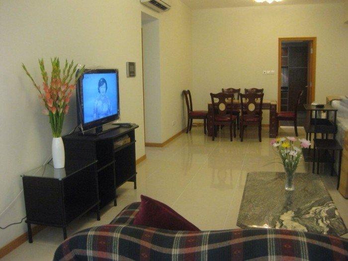 Cho thuê căn hộ chung cư Quang Thái   – Q.TP,  dt 68m, 2 phòng  ngủ, nội thất đầy đủ