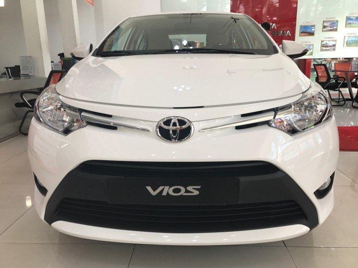 Toyota Vios 2017 số tự động 1.5E mới 100% xe giao ngay