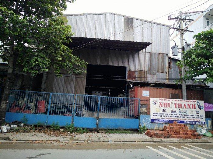 Cho thuê nhà kho mặt tiền xa lộ hà nội ngay ngã 3 làng đại học