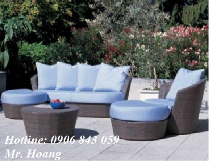 Bộ bàn ghế sofa cafe MS10