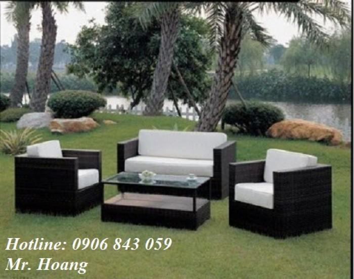 Bộ bàn ghế sofa cafe MS30