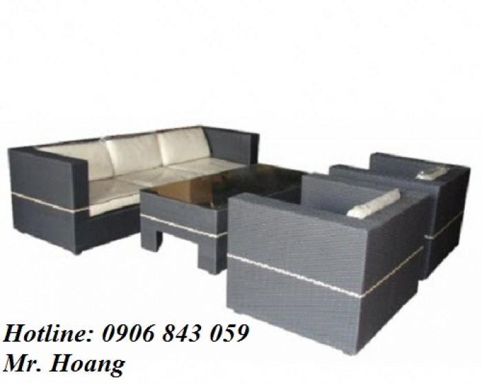 Bộ bàn ghế sofa cafe MS4