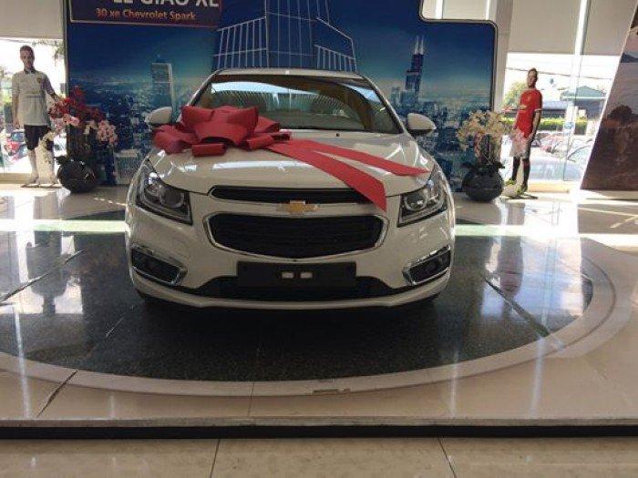 Chevrolet CRUZE 2017, Tặng ngay 50tr tiền mặt, hỗ trợ vay 100%, giá cực tốt 5