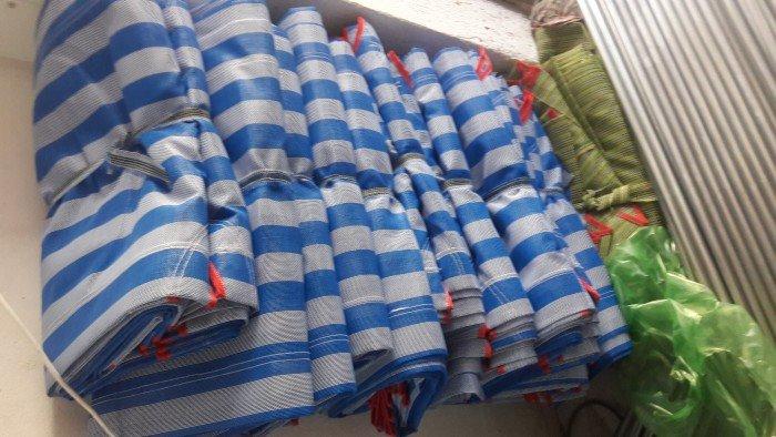 giường vải lưới màu xanh dương giá rẻ4
