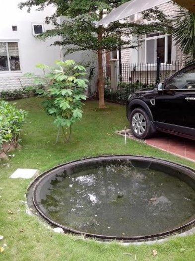 Cho thuê biệt thự Phú mỹ hưng khu cảnh đồi vừa ở vừa làm văn phòng giá 2200USD/tháng