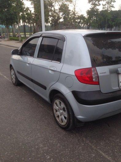 Gia đình cần bán xe hyundai Getz đời 2009, màu bạc, chính chủ, bản đủ 4