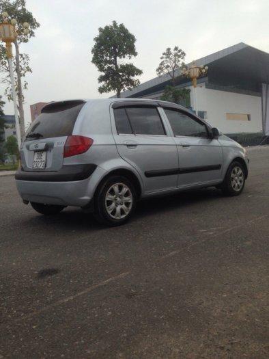 Gia đình cần bán xe hyundai Getz đời 2009, màu bạc, chính chủ, bản đủ 6