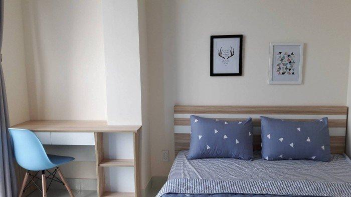 Cho thuê căn hộ quận Bình Thạnh,full nội thất,1pn,1wc,bếp,không chung chủ,đường Nguyễn Hữu Cảnh