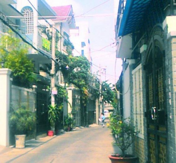 Bán nhà phố 4,6x14,8m 2 tầng  hẻm 3,5m đường Năm Châu, P.8, Q. Tân Bình