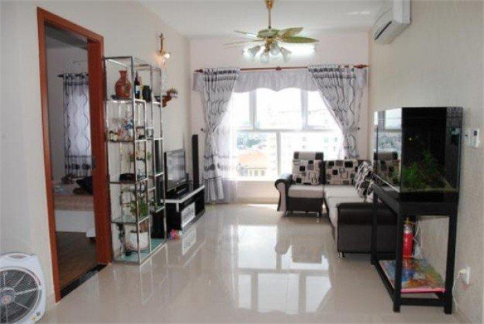 Cho thuê căn chung cư Phú Thọ .Diện tích: 65m2,2pn,đủ nội thất