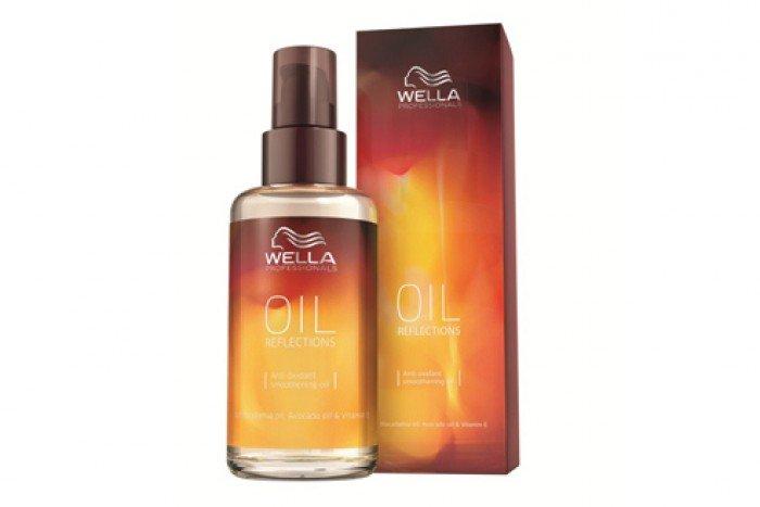 Tinh dầu argan dưỡng tóc wella oil reflections 100ml