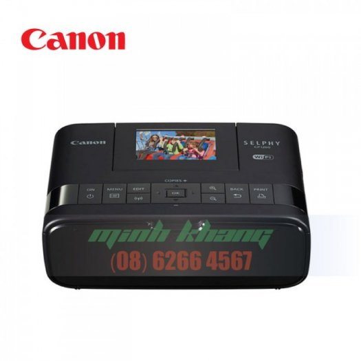 Máy in ảnh cá nhân, gia đình Canon CP1200 giá rẻ   Minh Khang JSC3
