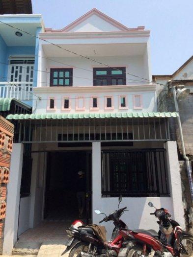 Bán nhà mặt tiền, chính chủ, SHR, ở Hóc Môn
