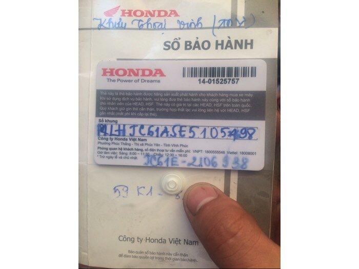 Honda Winner sản xuất năm 2017