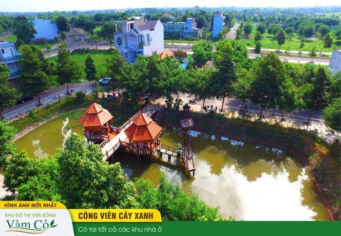 KĐT Ven Sông Vàm Cỏ chính thức mở bán đợt đầu.  Giá Hot :180tr/100m2.