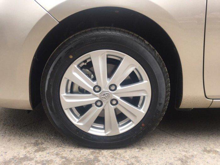 Toyota Vios 1.5 E đời 2015, màu cát, giá 535 triệu