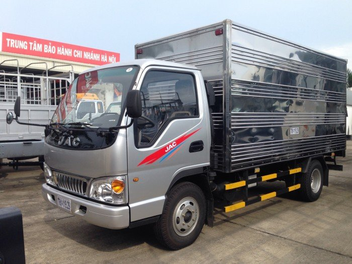Bán xe tải JAC 2,4 tấn,  2tấn 4,  2 tấn rưỡi thùng mui bạt, thùng kín  giá rẻ HẢI Phòng