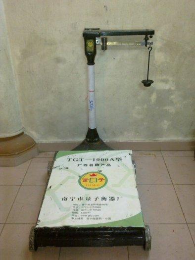 Cân bàn cơ TRung quốc tải trọng 100kg,200kg,500kg, 1000kg hàng chính hãng1