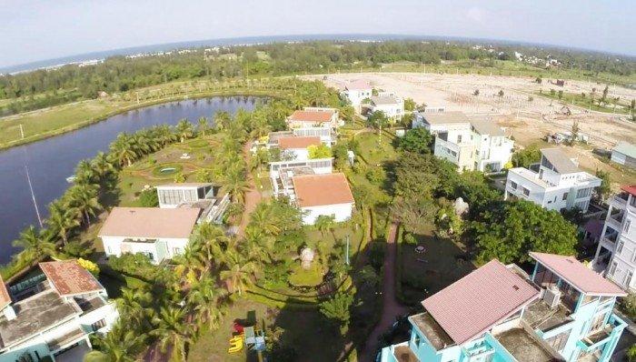 Đất nam Đà Nẵng lô góc 299m, mặt tiền 27m, cách bãi tắm Viêm Đông 700m