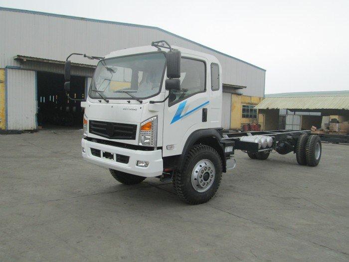 Xe tải VIETTRUNG 9T5 thùng mui bạt dài 7.5 mét