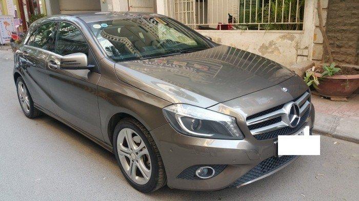 Bán Mercedes A200 đời 2013, màu nâu, giá 890 triệu