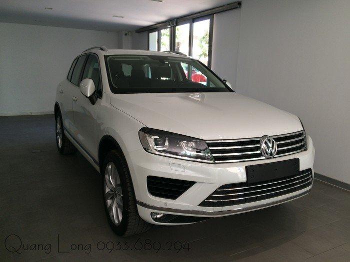 Volkswagen Touareg sản xuất năm 2016 Số tự động Động cơ Xăng