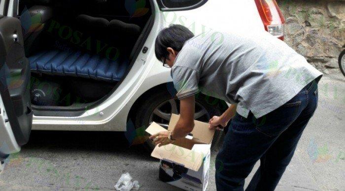 Chào bạn, Hôm nay rất vui, PoSaVo tiếp tục lắp đặt đệm hơi ô tô xe Hyundai I30...