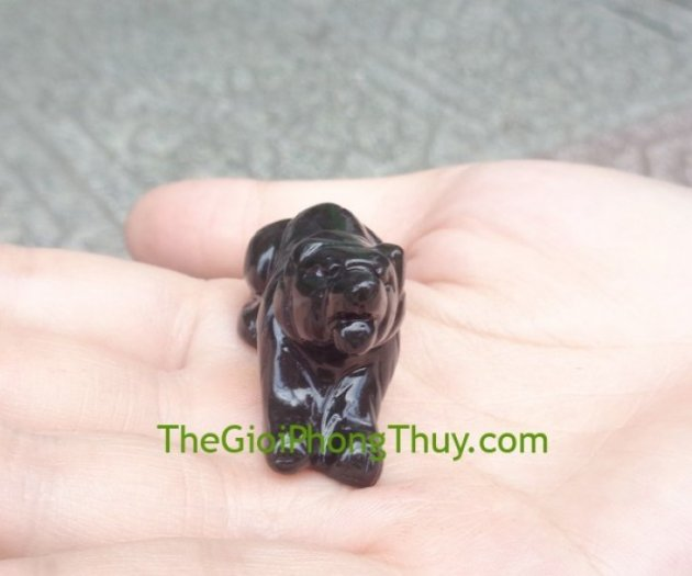 Tượng con giáp tuổi Dần đá hắc ngà FGM141-32