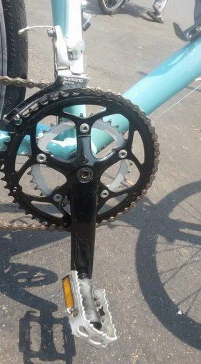 Xe đạp Touring BIANCHI ROMA// italia