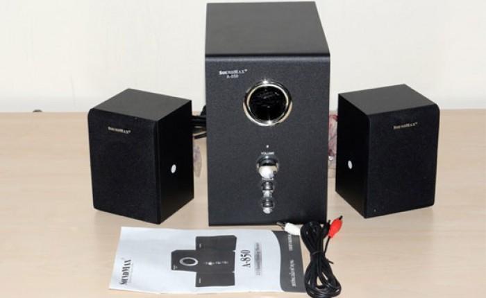 Hệ thống loa 2.1,cho âm thanh chất lượng cao, rõ ràng nghe được nhiều thể loại nhạc.1