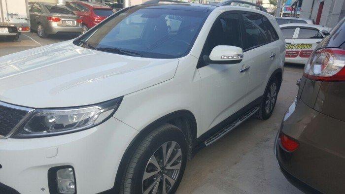 Bán Kia New Sorento 2.2AT CRDi màu trắng 2014 máy dầu 5